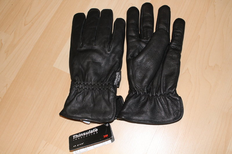 New Sly & Co Travel Wear Gloves 100% leather with 40 gr of Thinsulate. 2XL but feel like Large 20$