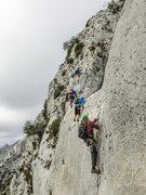 Rock Climbing Photo: Bernia Ridge, Spain