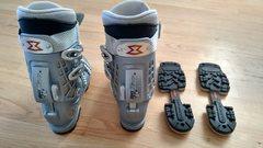 Walk mode and 2 ski modes