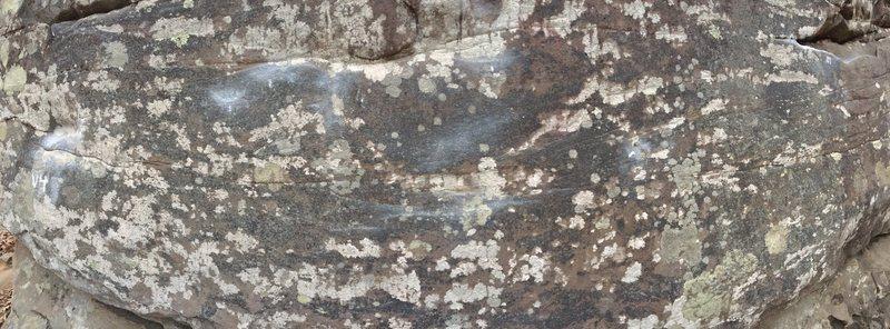 Rock Climbing Photo: Pano of traverse
