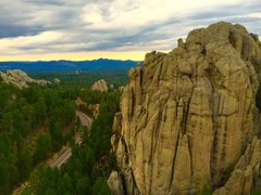 Rock Climbing Photo: Monster area sunset from Summit of marker