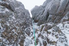 Rock Climbing Photo: shoestring gully