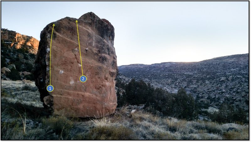 Rock Climbing Photo: 2. Jupiter.