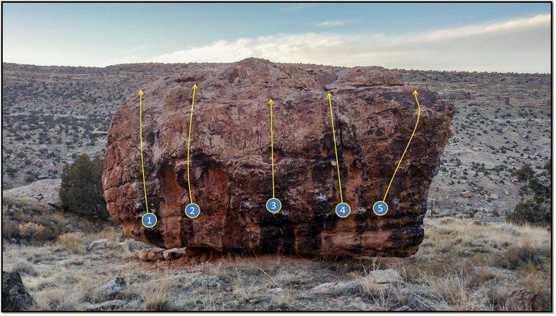 Rock Climbing Photo: 1. Uranus.