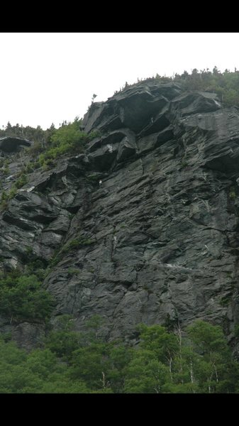 Rock Climbing Photo: Photo taken from parking lot.