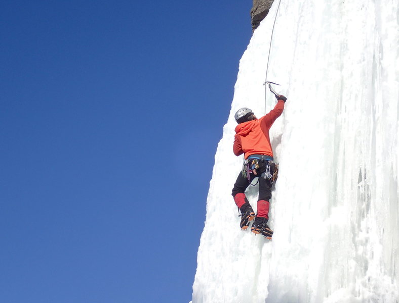 climbing MC ice in 2017