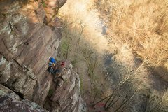 Rock Climbing Photo: Ledge Party