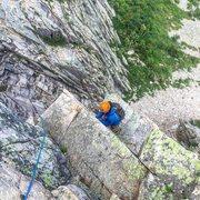 Rock Climbing Photo: WG Pipe Pitch
