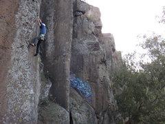 Rock Climbing Photo: Steve Levin climbing Secuencia Inicial.  Photo by ...