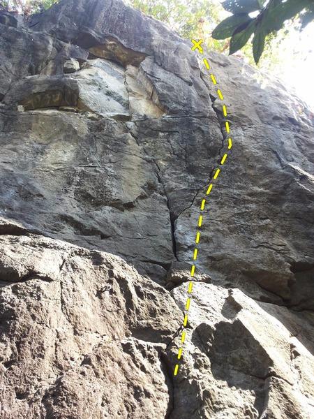 Crack route
