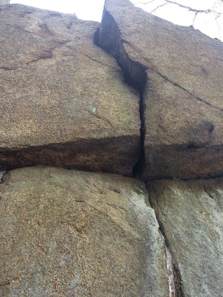 Closeup - Phaeton Cliff.