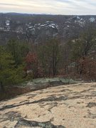 Rock Climbing Photo: A view of Phaeton Rock from the top of The Great S...