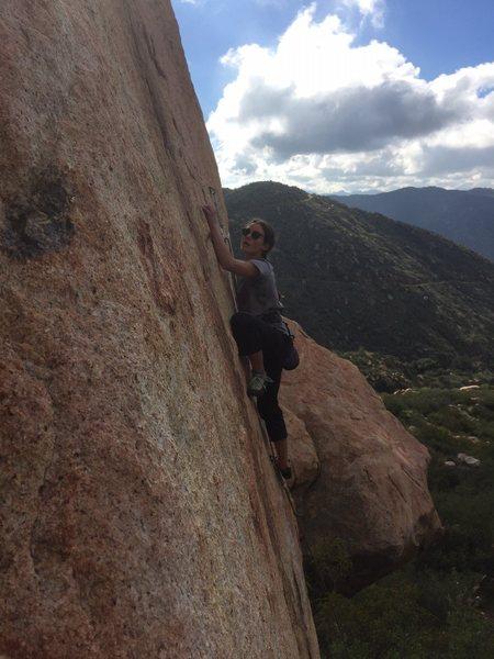 Rock Climbing Photo: Finagle 5.10c.