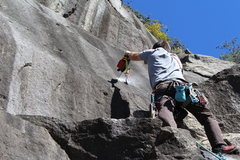 Rock Climbing Photo: For those that are still old-school, this route wa...