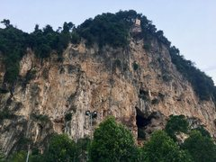 Rock Climbing Photo: Damai Wall