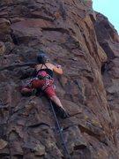 Rock Climbing Photo: Diablo Canyon, NM