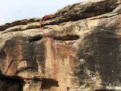Rock Climbing Photo: Beta for Poopty Jones.