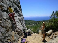 Rock Climbing Photo: Tarifa, Spain