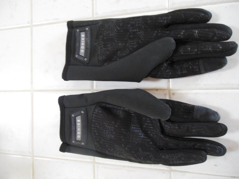 Under side of gloves
