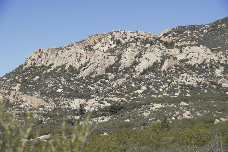 Rock Climbing Photo: Indian Flats.