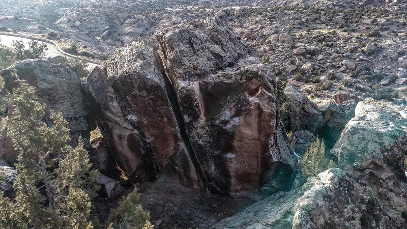 Rock Climbing Photo: Reformation Rock.