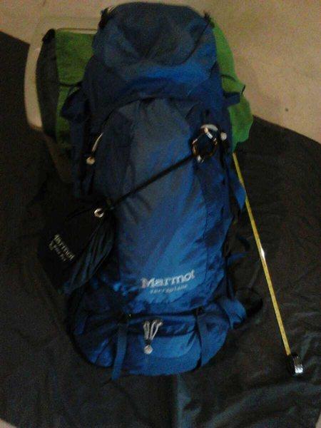 Marmot Terraplane pack / raincover
