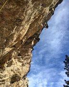 Rock Climbing Photo: Chris sending!  Photo by Luke Ross.
