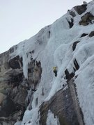 Rock Climbing Photo: Here is a good example of how conditions change ev...