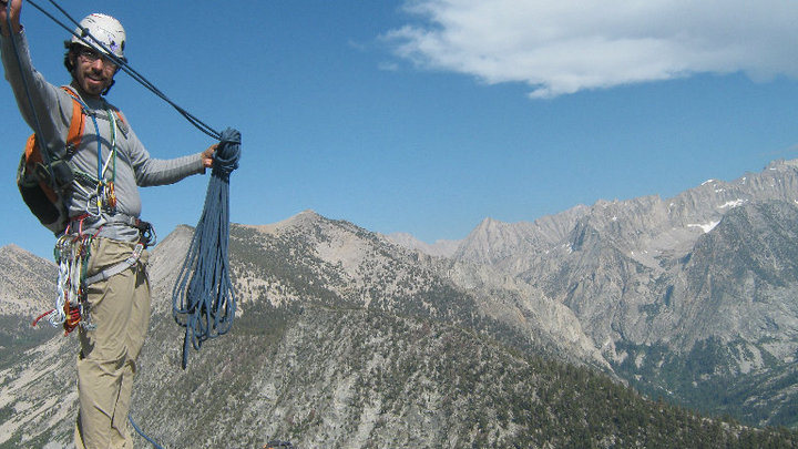 Atop Charorlette Dome, High Sierra