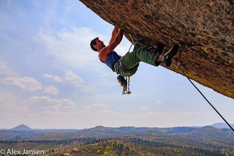 Rock Climbing Photo: Great little climb. I just wish it were longer.