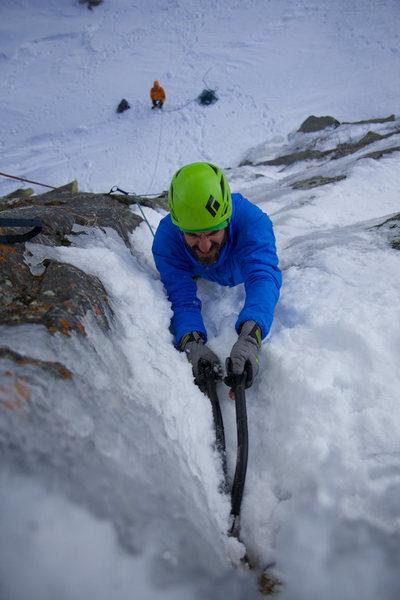 Rock Climbing Photo: Chance Traub slaying The Rancor.