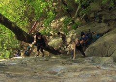Rock Climbing Photo: The Balcony @ Obed TN