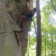 Rock Climbing Photo: Vogue @ Little River Canyon, Alabama