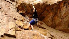 Rock Climbing Photo: Rode Hard @ Foster Falls TN
