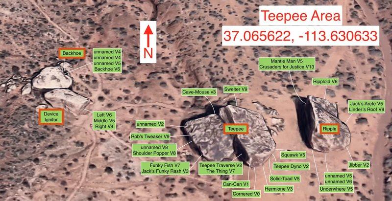 Teepee Area Beta Photo with: Ripler, Teepee, Device Ignitor, Backhoe