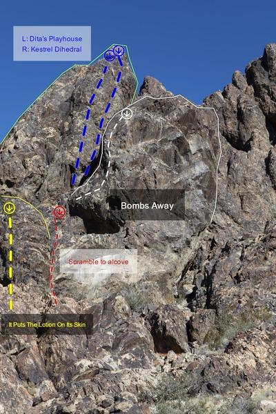 Rock Climbing Photo: route details