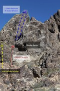 Rock Climbing Photo: route details