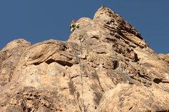 Rock Climbing Photo: On lead, Feb 2017