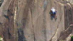 Rock Climbing Photo: Gin Drinker's Line