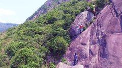Rock Climbing Photo: Old Man's War