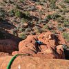Chris Astraus heading up the 2nd pitch of T-Rex