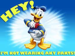 Donald Duckin It