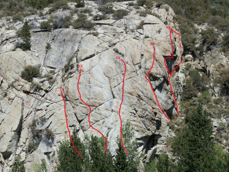 Parcher's Bluff Overview