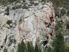Rock Climbing Photo: Parcher's Bluff Upper Overview