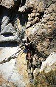 Rock Climbing Photo: Weston on Thirstin' Howl
