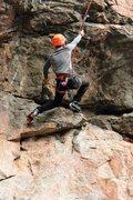 Rock Climbing Photo: Drytooling.