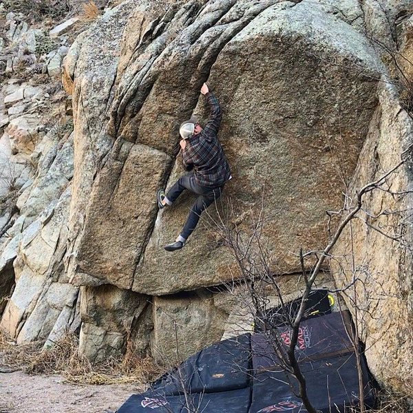 Rock Climbing Photo: Looking for grade consensus.