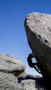 Rock Climbing Photo: crunch