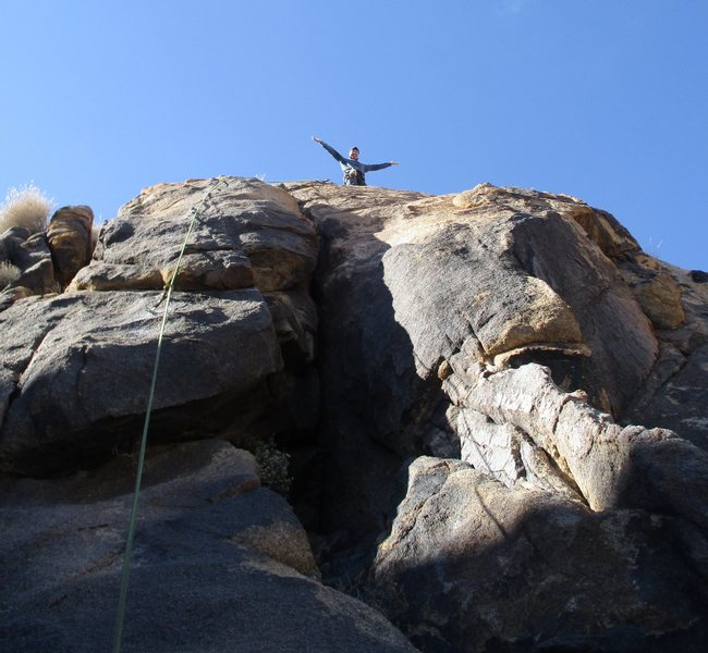 Rock Climbing Photo: The summit.