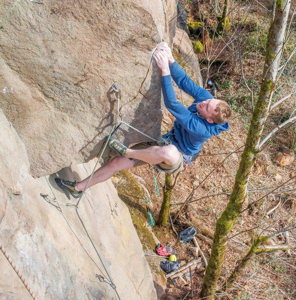 Rock Climbing Photo: My Secret Garden